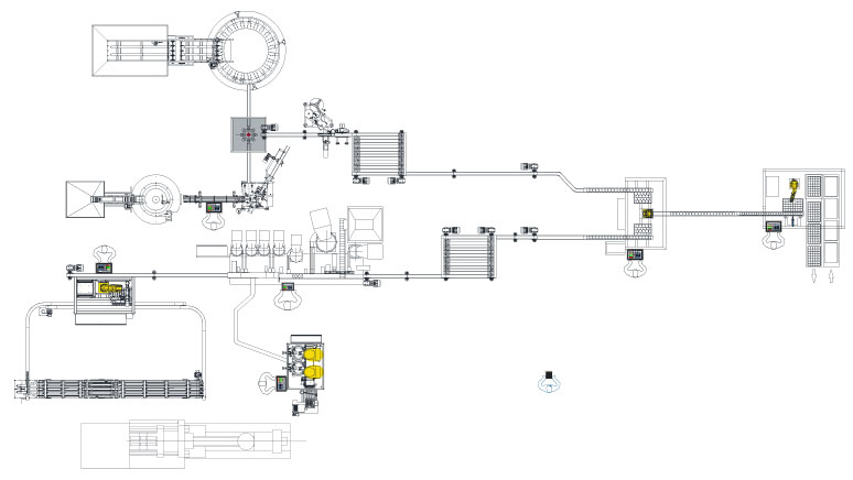 Orientech turn key assembly line