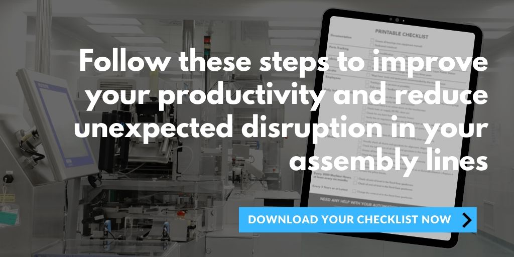 Avoid downtime in production checklist